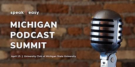 Michigan Podcast Summit tickets