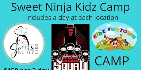 Fun Camp - A day of Baking, Ninja & Fun! Oh MY!!!! tickets