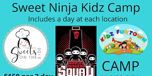 Fun Camp - A day of Baking, Ninja & Fun! Oh MY!!!!