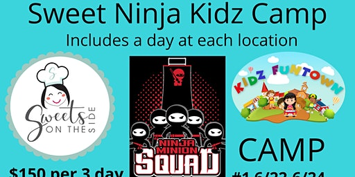 Fun Camp - A day of Baking, Ninja & Fun! Oh MY!!!!!!!