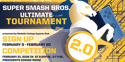 Medaille College Super Smash Bros. Ultimate Tournament 2.0