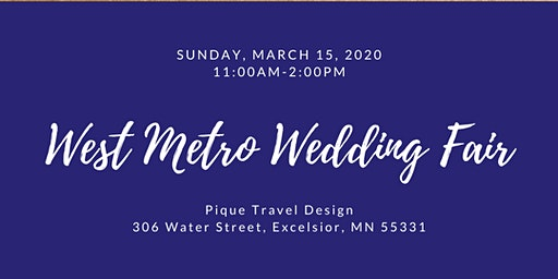 West Metro Wedding Fair