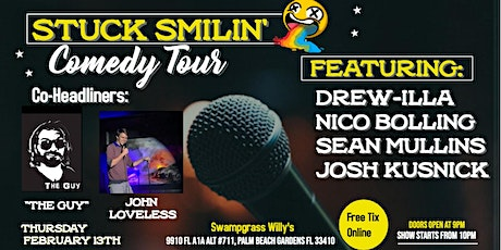 Comedy Night with Stuck Smilin' Tour at Fins & Things tickets