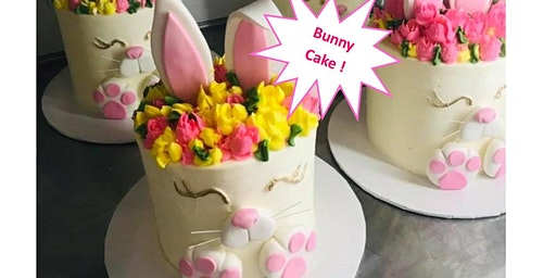 2nd Seating: Ages 8-17  Easter Bunny Cake Class