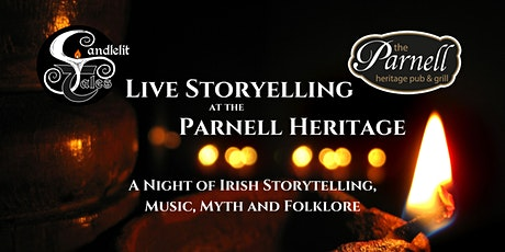 Candlelit Tales - A Night of Irish Storytelling,  Music, Myth and Folklore tickets
