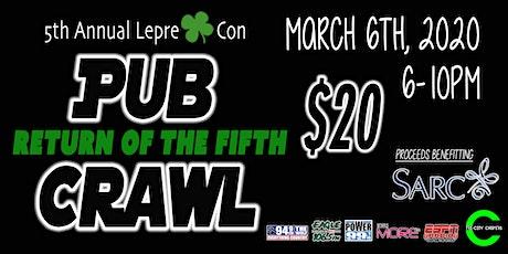 2020 Lepre-Con Pub Crawl tickets