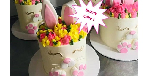 Ages 18 and up- Easter Bunny Cake Workshop!