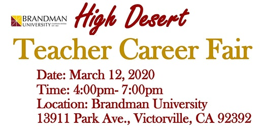Teacher Career Fair