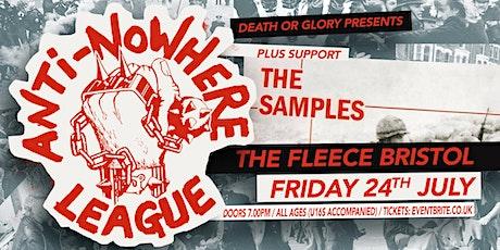 Anti-Nowhere League / Janus Stark at the Fleece Bristol tickets