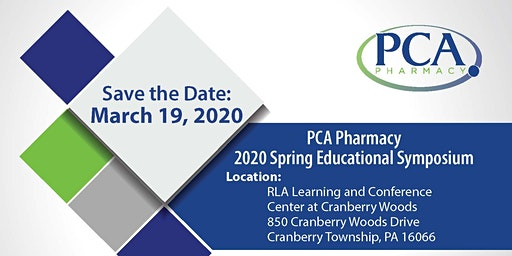 2020 PCA Pharmacy Spring Symposium - Cranberry Township, PA