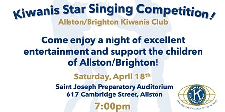 Kiwanis Star Singing Competition tickets