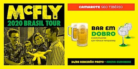 McFly em Ribeirão Preto - Camarote Seo Tibério ingressos