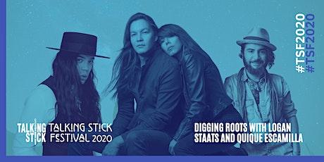 Talking Stick Festival Presents: Digging Roots // Logan Staats // QuiQue tickets