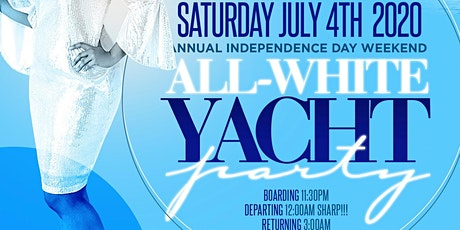 MIAMI NICE 2020 ANNUAL MIAMI 4TH OF JULY INDEPENDENCE DAY WEEKEND ALL WHITE YACHT PARTY tickets