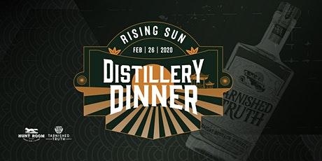 Japanese Distillery Dinner featuring Tarnished Truth Distilling Co. tickets