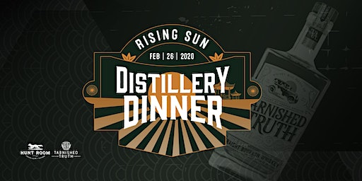 Japanese Distillery Dinner featuring Tarnished Truth Distilling Co.