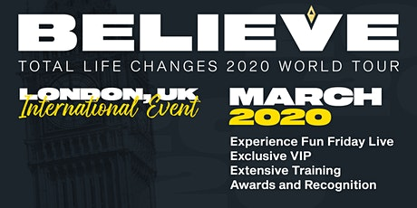 TLC's 2020 Believe Tour London tickets