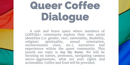 CDI Queer Coffee Dialogue