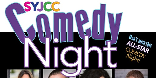 Comedy Night at the Suffolk Y JCC!