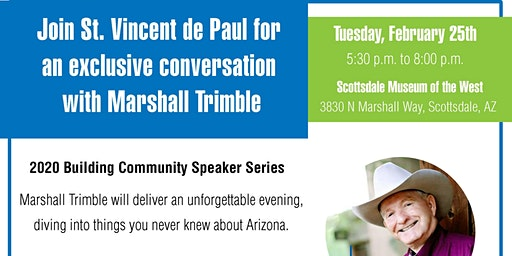 SVdP - Building Community Speaker Series with Marshall Trimble