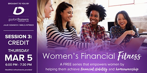 Women's Financial Fitness - Session 3: Credit