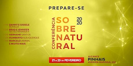 CONFERÊNCIA SOBRENATURAL 2020 - ALCANCE PINHAIS ingressos