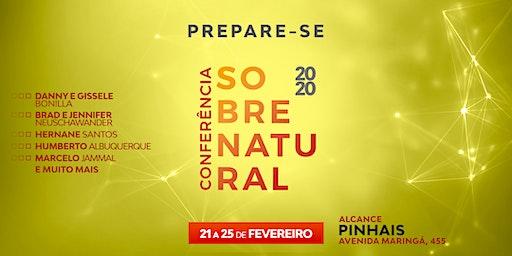 CONFERÊNCIA SOBRENATURAL 2020 - ALCANCE PINHAIS