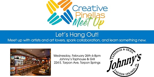 Creative Pinellas Meetup at Johnny's Taphouse