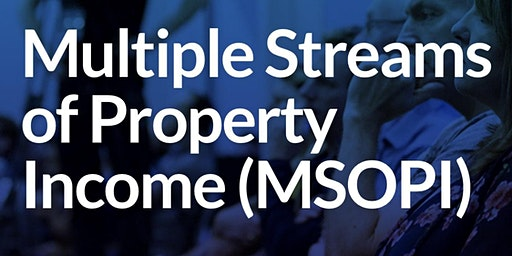 Multiple Streams Of Property Income (3 Day Event)