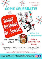 Happy Birthday Dr. Seuss! tickets