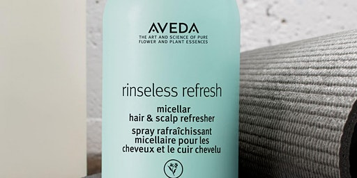 Aveda Water Wednesday No Wash Day
