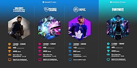 Événement Gaming IV : fin de semaine eSports billets