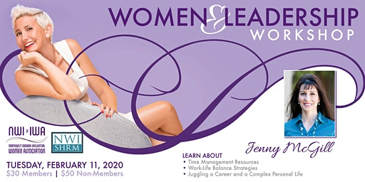 Women and Leadership Workshop - Dr. Jenny McGill