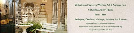 25th Annual Art & Antique Faire tickets