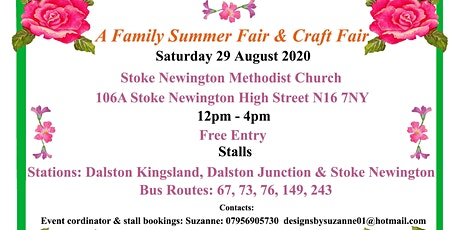 A family summer fair & craft fair tickets
