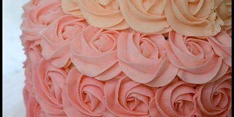 Ages 18 and up: Buttercream Rosette Cake Workshop