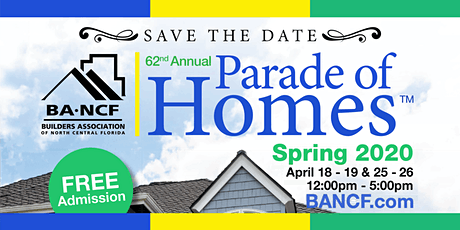 2020 Spring Parade of Homes™ tickets