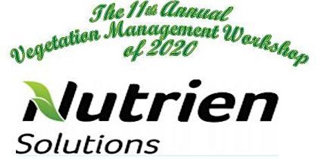 2020 Nutrien Solutions Vegetation Management Workshop tickets