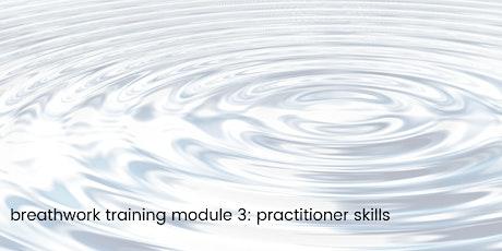 Breathwork Training : Module 3 - Practitioner Skills tickets