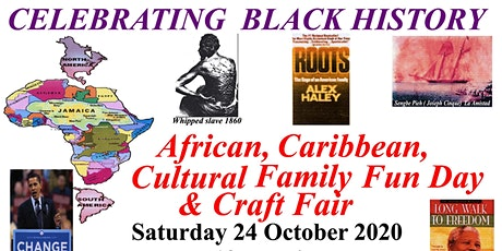 Celebrating black history & craft fair tickets