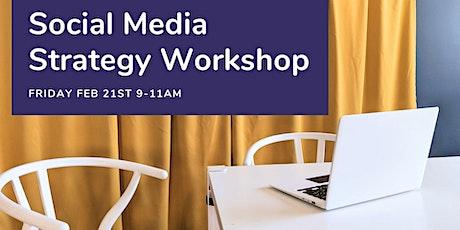 Social Media Strategy Workshop tickets