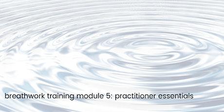 Breathwork Training : Module 5 - Practitioner Essentials tickets