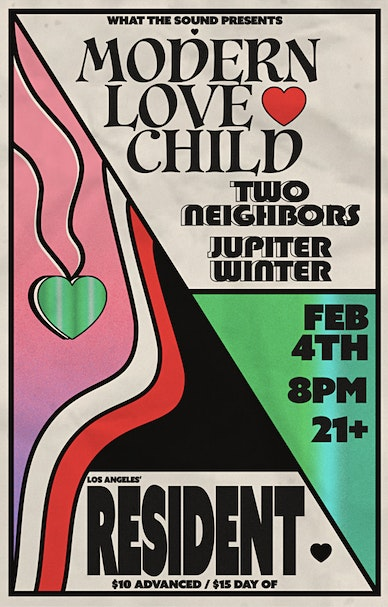 What The Sound Presents: Modern Love Child, Two Neighbors, Jupiter Winter