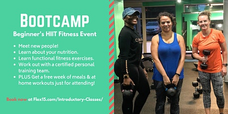 Bootcamp at Flex 15 Fitness & Nutrition - Fitness & Friends! tickets