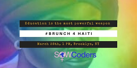 BRUNCH 4 HAITI tickets