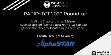 Women in 3D Printing at RAPID 2020 tickets