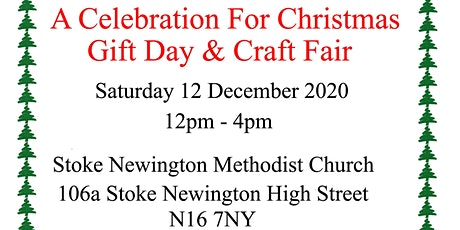 A Celebration for Christmas Gift day & Craft Fair tickets