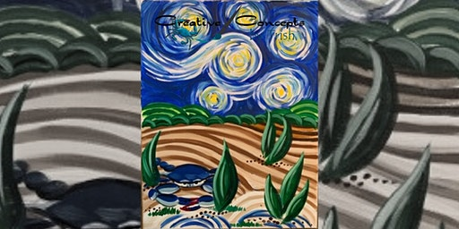 Van Gogh on the Chesapeake Canvas Paint Night
