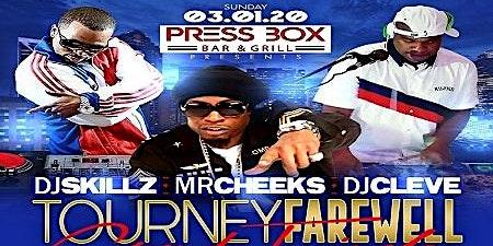 DJ Skillz + Mr Cheeks + DJ Cleve Tourney Farewell Grand Finale