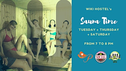 Sauna Time at WikiHostel! Detox, relaxing evening! tickets